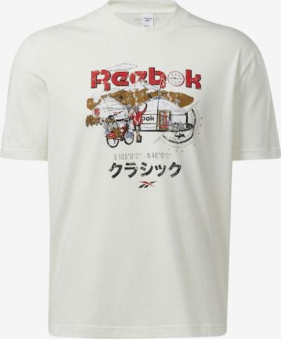 Reebok Classics T-Shirt in mischfarben / weiß, Produktansicht