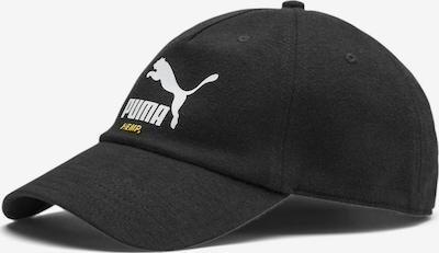 PUMA Baseballcap 'Classics Hemp' in schwarz / weiß, Produktansicht