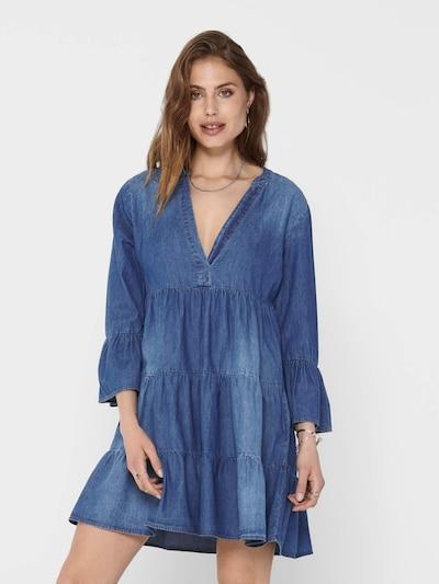 JDY Klänning 'SAINT' i blå denim, På modell
