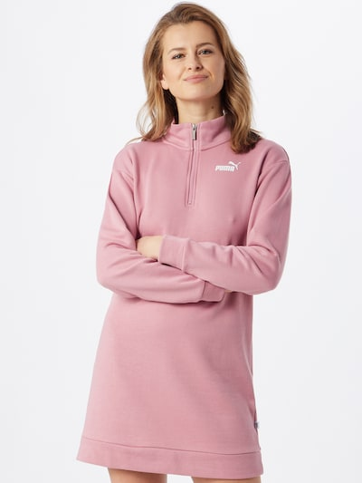 PUMA Sweatkleid in rosa, Modelansicht