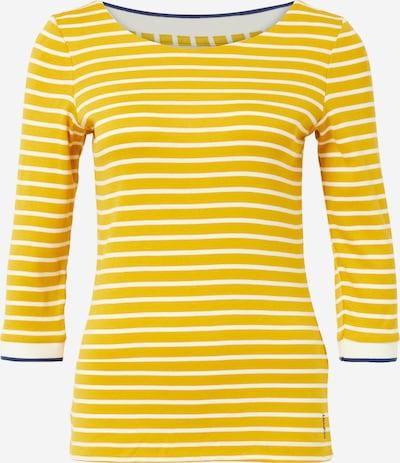 ESPRIT Shirt in dunkelblau / goldgelb / weiß, Produktansicht