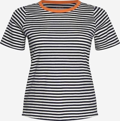 MY TRUE ME Shirt in dunkelorange / schwarz / weiß, Produktansicht
