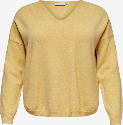 ONLY Carmakoma Pullover in gelb, Produktansicht