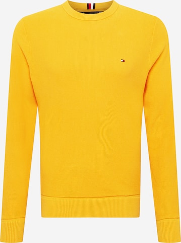 TOMMY HILFIGER Pullover in Gelb