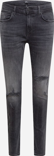River Island Jeans 'BLACK SERENTO RIPS' in black denim, Produktansicht
