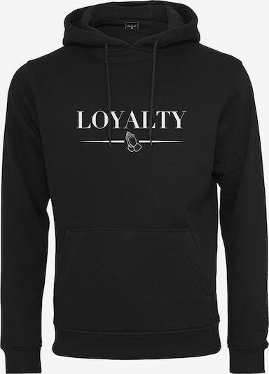 Mister Tee Sportisks džemperis 'Loyalty', krāsa - melns / balts, Preces skats