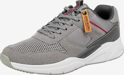 Dockers by Gerli Sneakers in grau / anthrazit / rot, Produktansicht