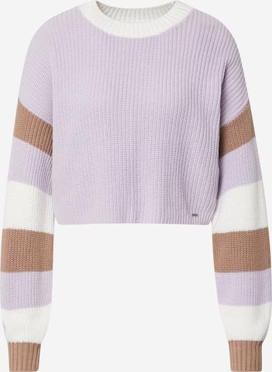 HOLLISTER Pullover in braun / flieder / weiß, Produktansicht