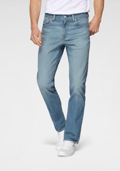 Jeans LEVI'S pe albastru denim, Vizualizare model
