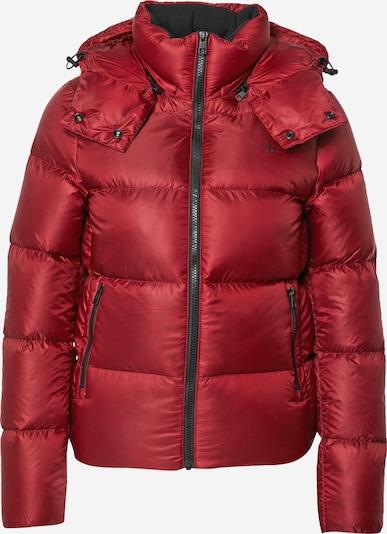 Calvin Klein Jeans Winter Jacket in Red / Black, Item view
