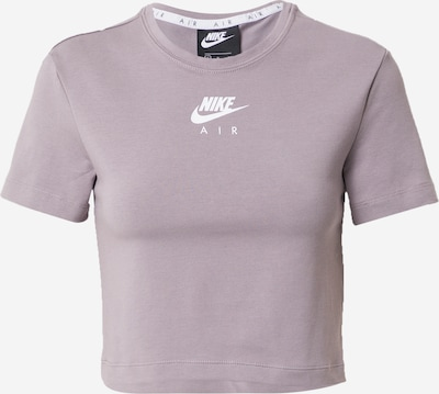 Nike Sportswear T-shirt en violet clair / blanc, Vue avec produit