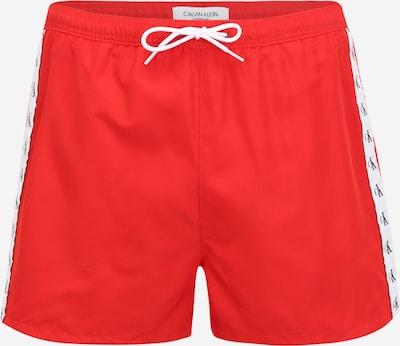 Calvin Klein Swimwear Plavecké šortky - červená / černá / bílá, Produkt