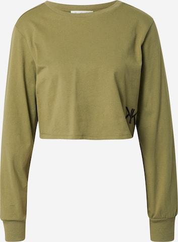 KENDALL + KYLIE Shirt in Grün