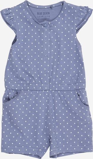 BLUE SEVEN Jumpsuit in taubenblau / weiß, Produktansicht