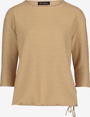 Betty Barclay Sweatshirt in Beige
