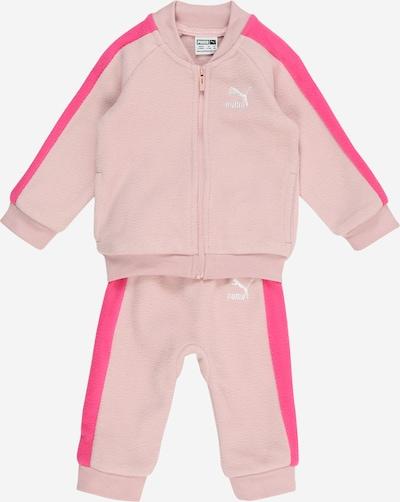 Tuta da jogging 'Minicats T7' PUMA di colore rosa / rosa, Visualizzazione prodotti
