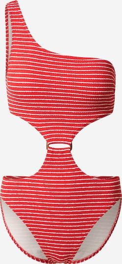Seafolly Badeanzug 'Chilli' in rot / weiß, Produktansicht