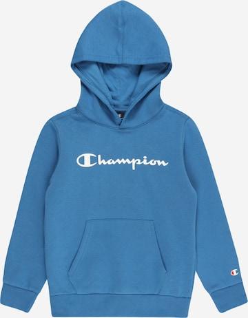 Bluză de molton de la Champion Authentic Athletic Apparel pe albastru