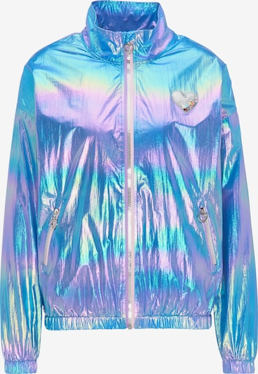 MYMO Between-Season Jacket in Blue / Light blue / Light yellow / Light purple, Item view