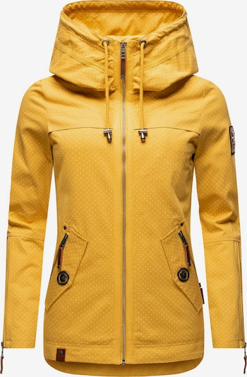 NAVAHOO Outdoorjacke ' Wekoo ' in gelb, Produktansicht