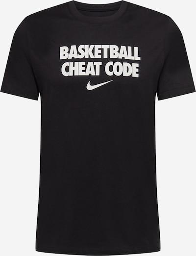 NIKE Sportshirt 'Cheat Code' in schwarz / weiß, Produktansicht