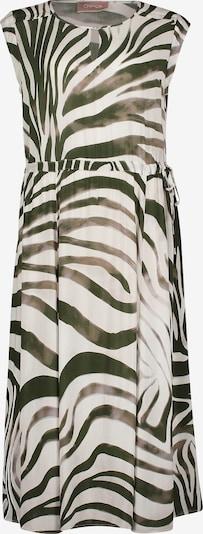 Cartoon Kleid in beige / oliv / puder, Produktansicht