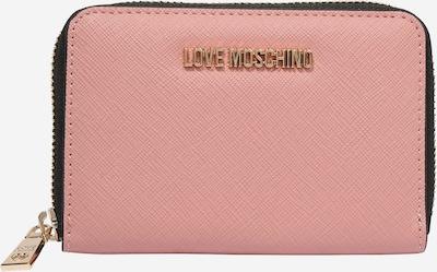 Love Moschino Porte-monnaies en rose ancienne, Vue avec produit
