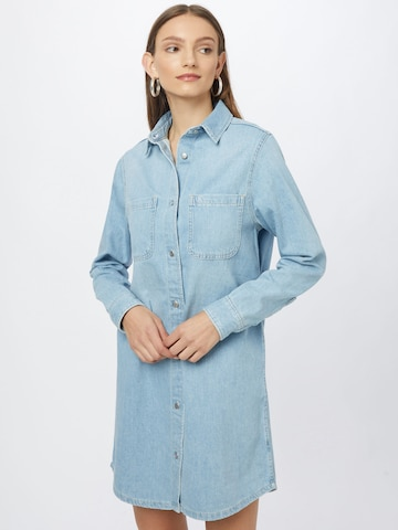 Calvin Klein Jeans Shirt Dress in Blue