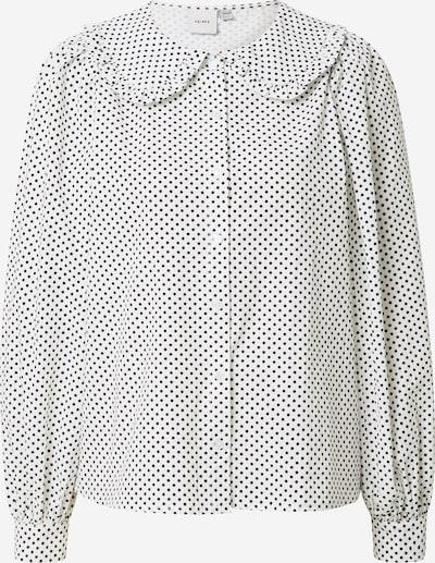 Bluză 'NILLA' ICHI pe crem / negru, Vizualizare produs