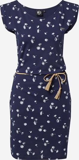 WLD Kleid 'Luna City' in navy / weiß, Produktansicht