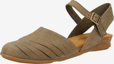 EL NATURALISTA Sandalen in khaki, Produktansicht