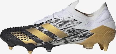 ADIDAS PERFORMANCE Fußballschuh in gold / schwarz / weiß, Produktansicht