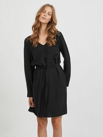 VILA Jurk 'RASHA' in de kleur Zwart, Modelweergave