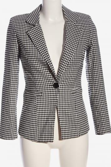 Drole de copine Klassischer Blazer in S in schwarz / weiß, Produktansicht