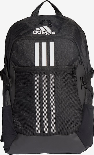 ADIDAS PERFORMANCE Sports backpack 'Tiro' in black / white, Item view