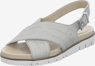 GERRY WEBER SHOES Sandale in offwhite, Produktansicht