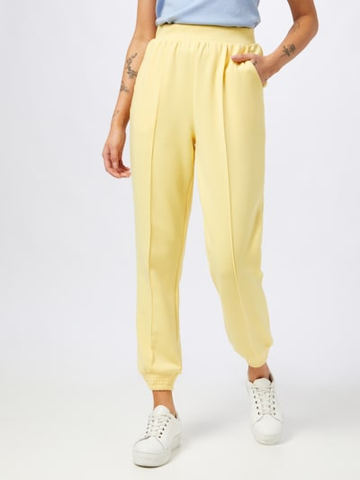 ONLY Pantalón 'JOY' en amarillo claro, Vista del modelo