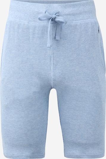 POLO RALPH LAUREN Pantalon de pyjama en bleu clair, Vue avec produit