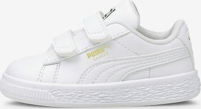 PUMA Sneakers 'Basket Classic' in de kleur Goud / Wit, Productweergave