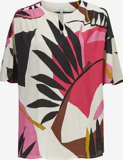 Masai Shirt in braun / pink / schwarz / offwhite, Produktansicht