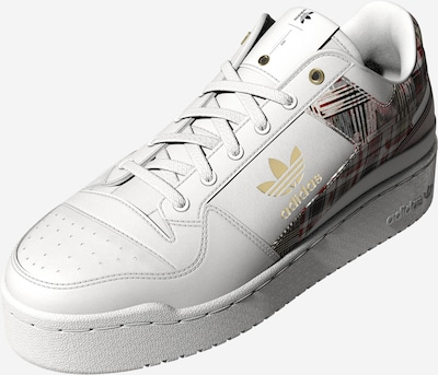 ADIDAS ORIGINALS Sneaker low 'Forum Bold' i guld / rubinrød / sort / hvid, Produktvisning