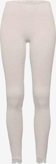 Hanro Leggings ' Woolen Lace ' in offwhite, Produktansicht