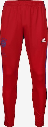 ADIDAS PERFORMANCE Trainingshose in dunkelblau / rot, Produktansicht