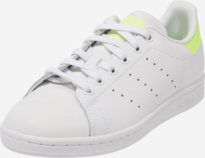ADIDAS ORIGINALS Sneaker in gelb / weiß: Frontalansicht