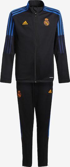 ADIDAS PERFORMANCE Trainingspak 'Tiro Real Madrid' in de kleur Royal blue/koningsblauw / Goudgeel / Pastelrood / Zwart, Productweergave
