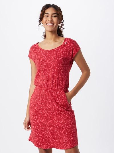 Ragwear Letní šaty 'LILITHE' - červená / bílá, Model/ka