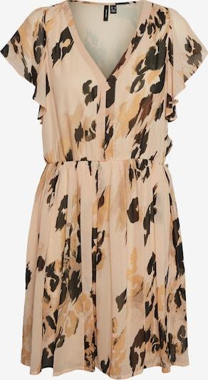 VERO MODA Ljetna haljina 'Sasha' u cappuccino / tamno smeđa / senf, Pregled proizvoda