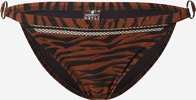 watercult Bas de bikini en rouge rouille / noir, Vue avec produit