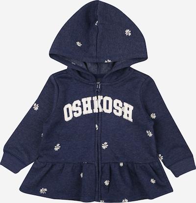 OshKosh Sweatjacke in marine / weiß, Produktansicht