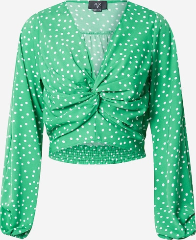 AX Paris Μπλούζα σε πράσινο / λευκό, Άποψη προϊόντος